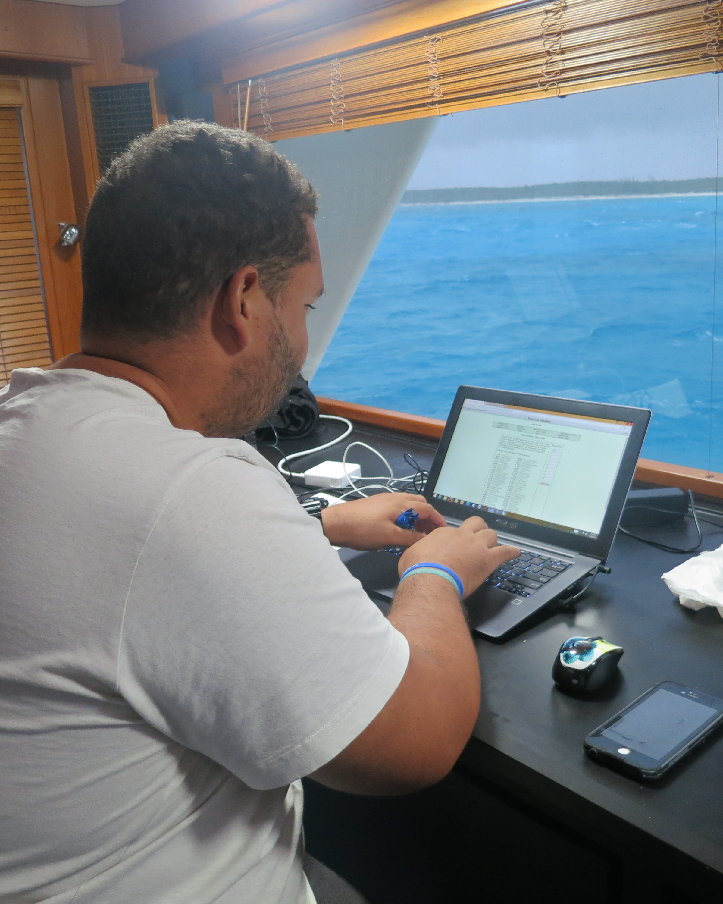 Bahamas National Trust R/V Angari Research
